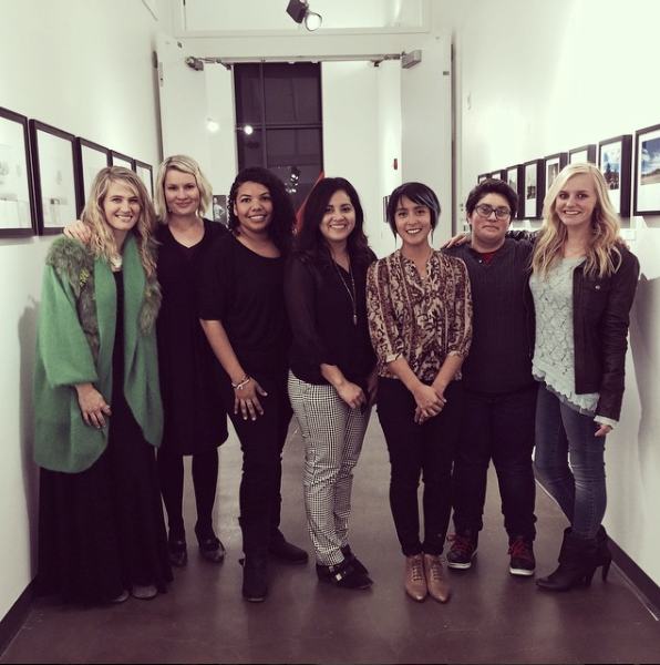 Some of the incredibly talented and proud women showing at The Women In Light show.