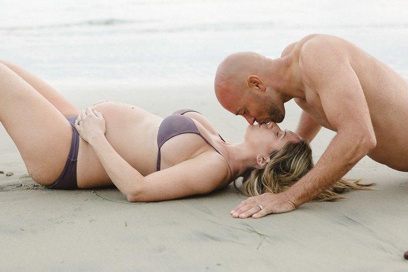 Loving Maternity Photos in Solana Beach
