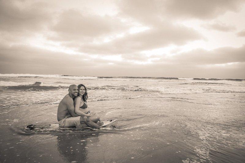 Loving Maternity Photos in Solana Beach | Beautiful