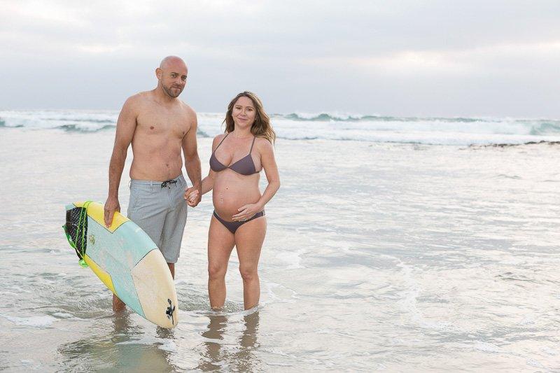 Loving Maternity Photos in Solana Beach | Photo Session