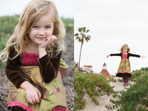 Coronado Family Photography: Timeless Children Styling – San Diego Beach Photographer