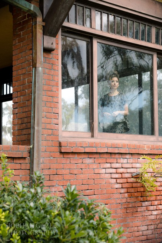 Brick building window | San Diego Fashion Photography