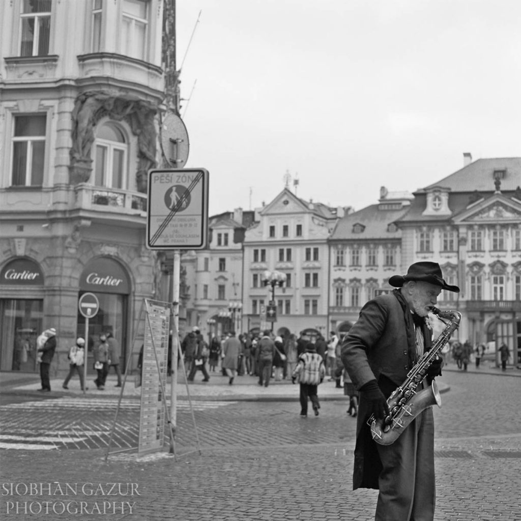 His Music | Prague Portrait Photography
