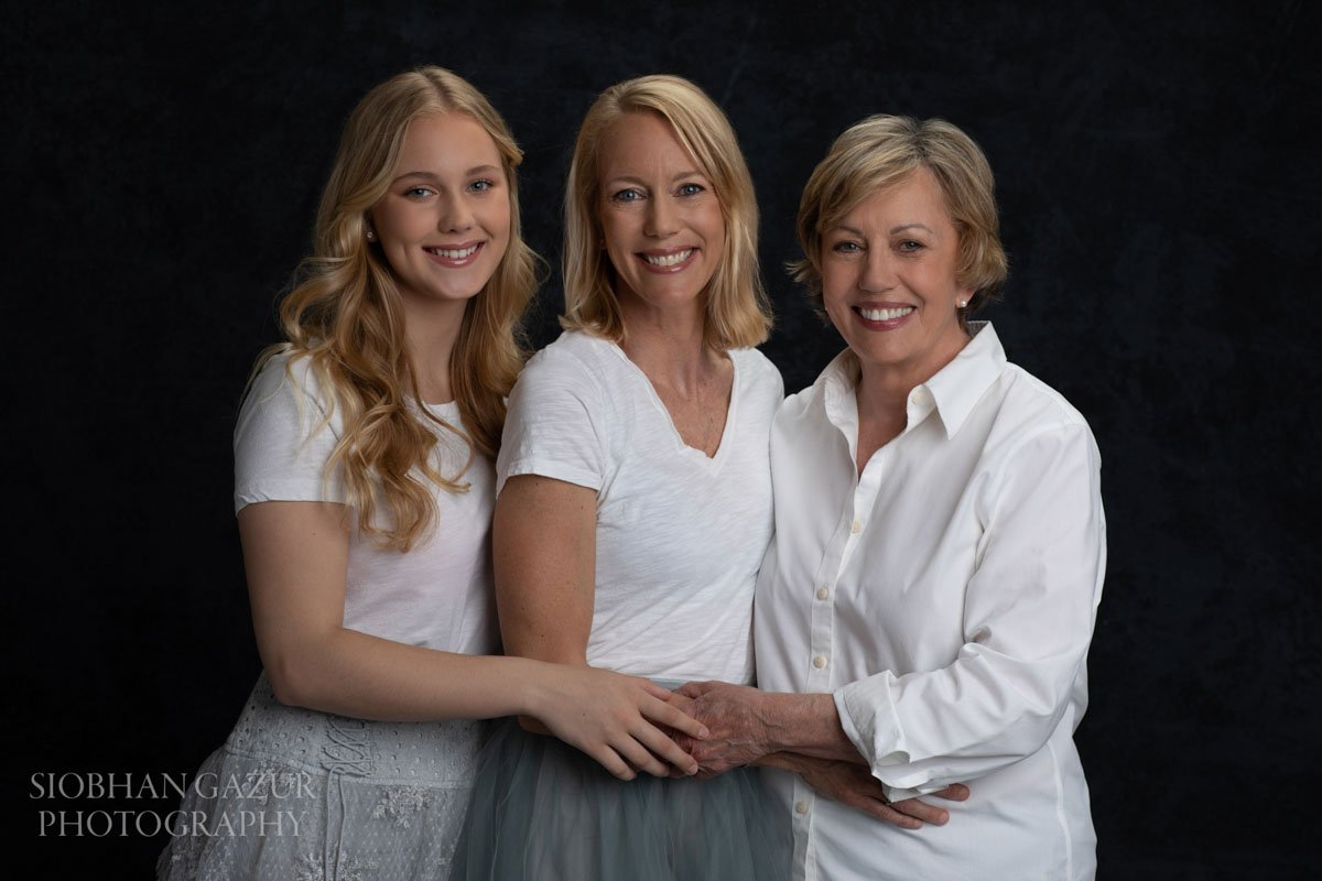 San Diego Portraits - Three Generations