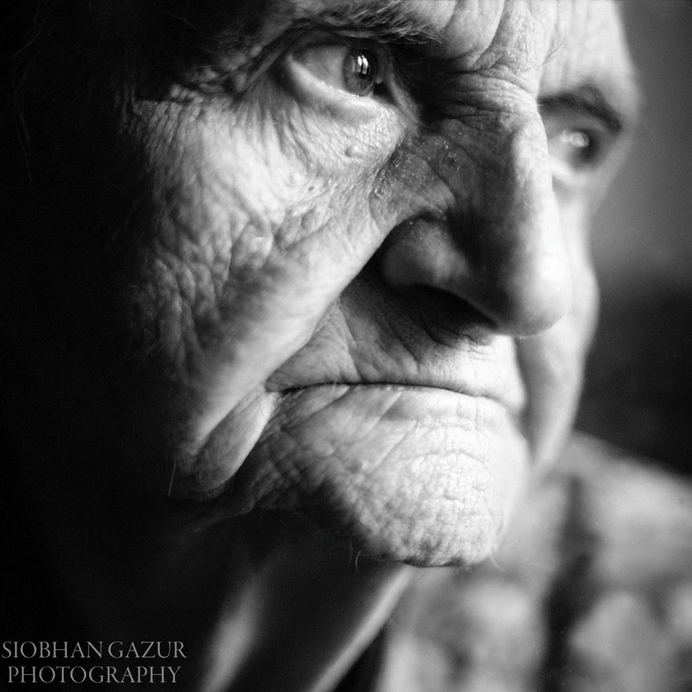 Lost In Thoughts | Portrait of Senior Woman