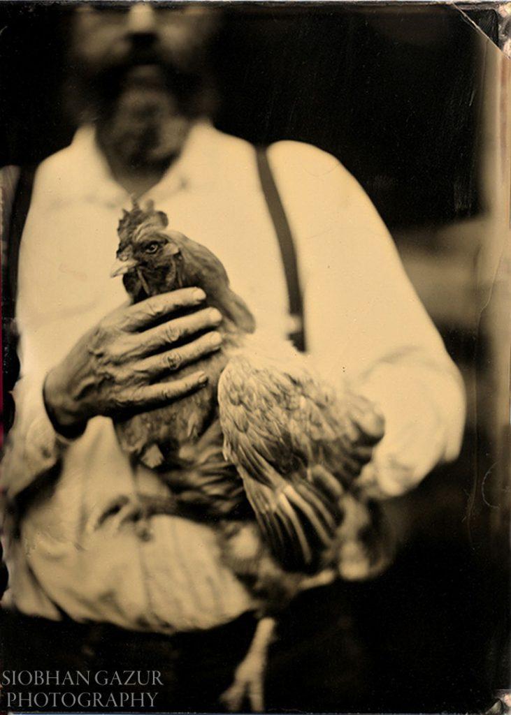 Big Bird | Tintype Photography