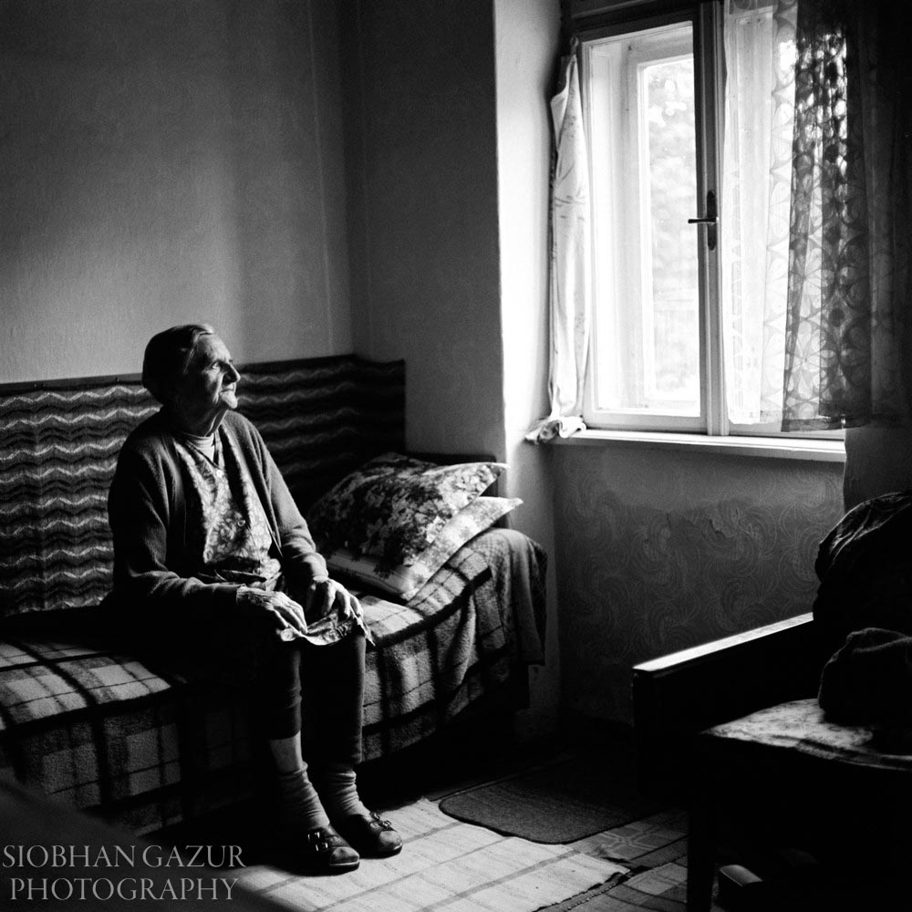 By The Window | Portrait of Elderly Woman