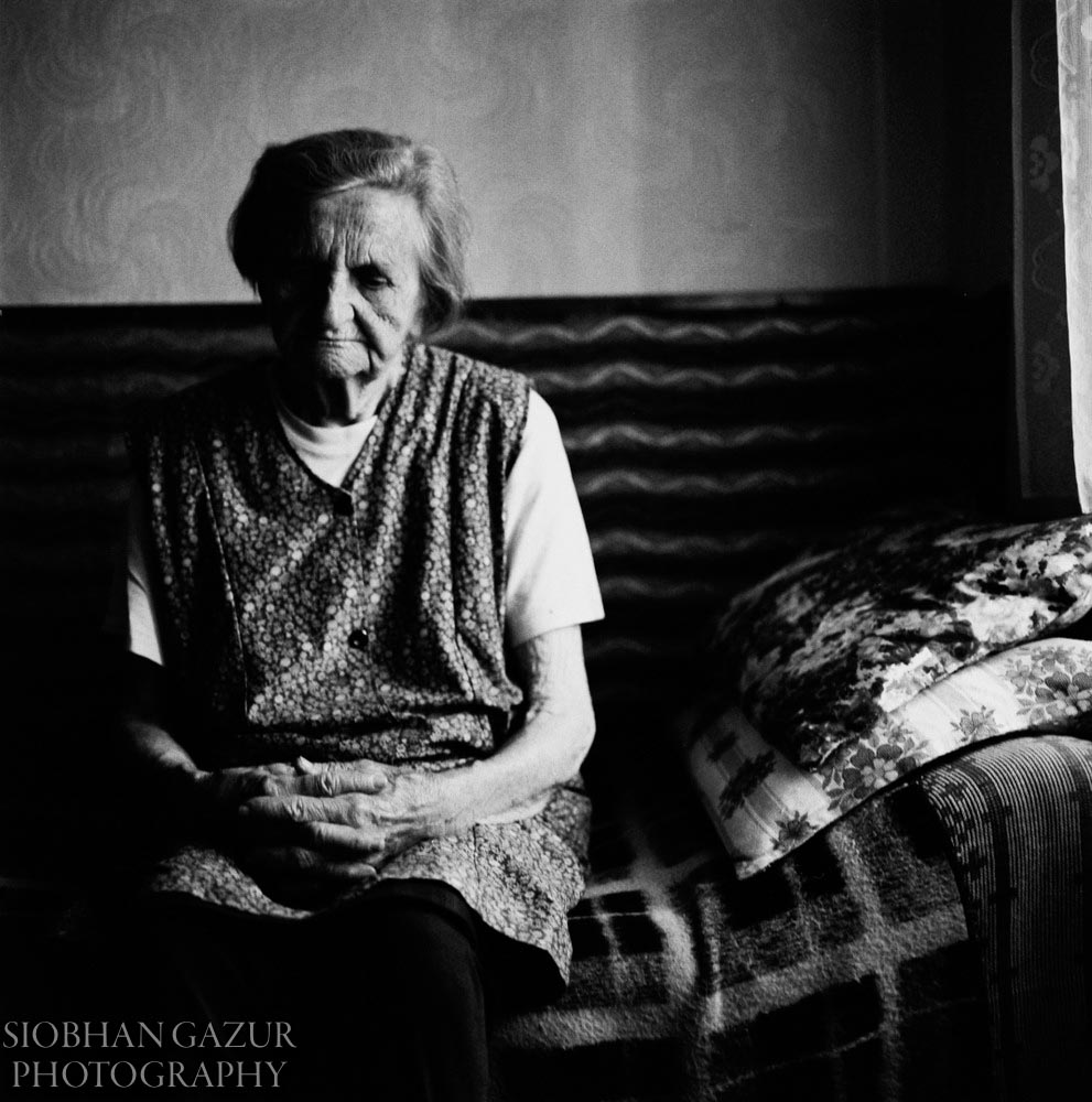 Solitude | Portrait of Elderly Woman