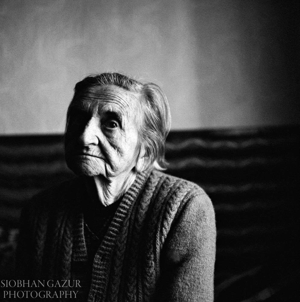 Portrait of Elderly Woman