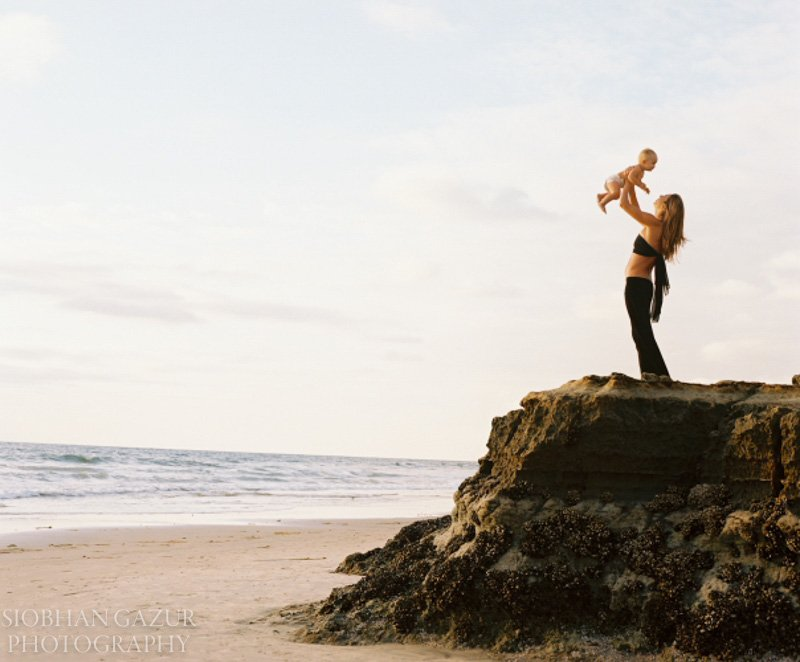 On the Cliff | San Diego Children Photography