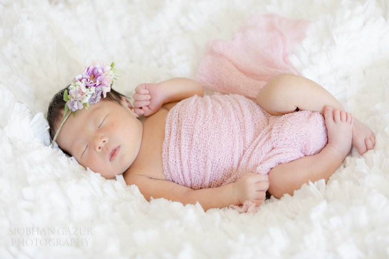 Pink Wrap | San Diego Newborn Photography
