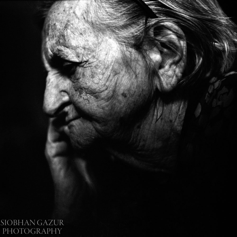 Time Passing Elderly Woman - Portraits