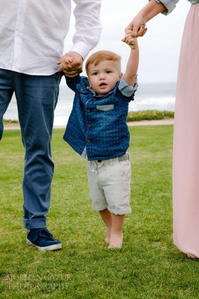 Del Mar Family Beach Photography - Powerhouse Park