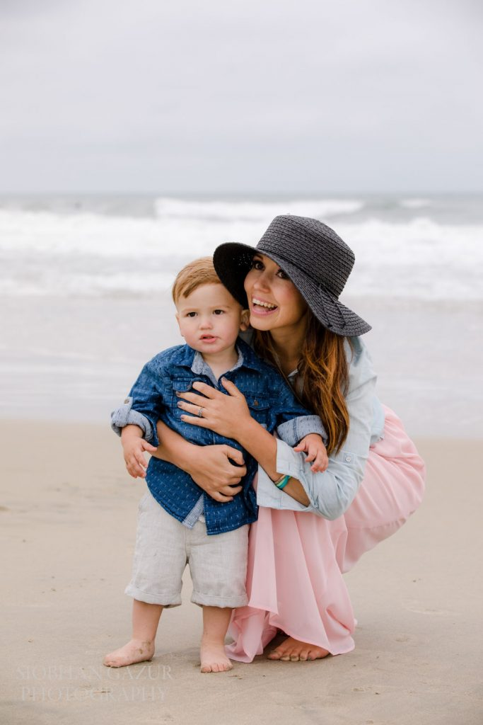 Del Mar Family Beach Photography - 18th street