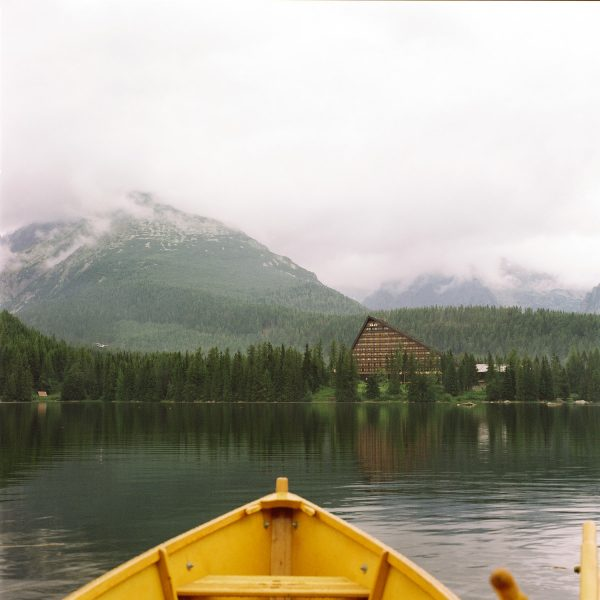 Yellow Boat in Strbske Pleso