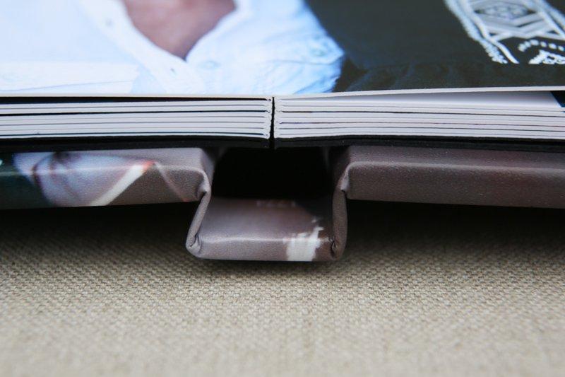 Luxury Photo Album - Open Book - Seamless spread